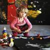 Аэлита Андрэ – маленький гений или просто ребенок, которому разрешают рисовать?