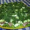 Наш любимый большой семейный салат