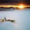 Белая жара в пустыне White Sands National Monument