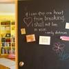 Школьная доска – часть интерьера кухни, детской, спальни и т.д.