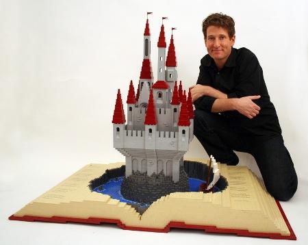 LEGO-скульптуры Натана Савайя — фото 6