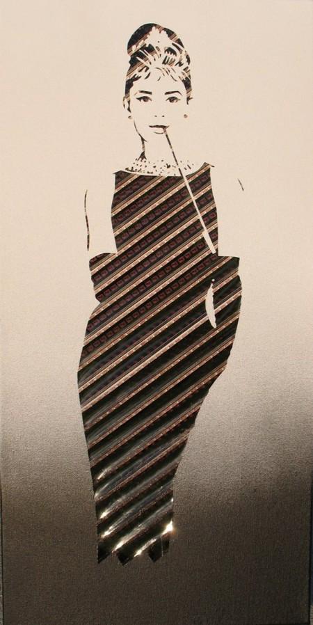 Одри Хепберн(работа <strong>Эрики Ирис Симмонс)</strong>
