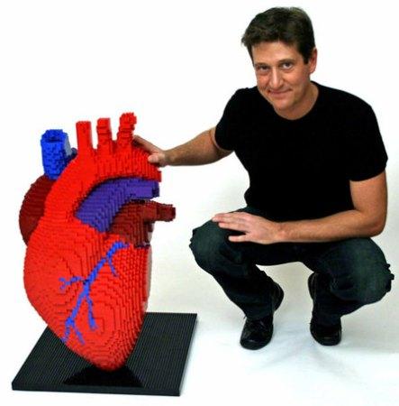 LEGO-скульптуры Натана Савайя — фото 3