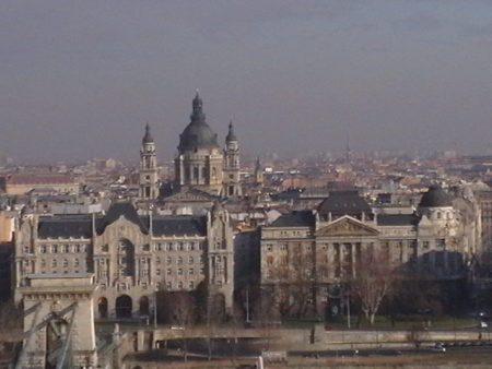 г.Будапешт. Вид на Базилику Св.Иштвана
