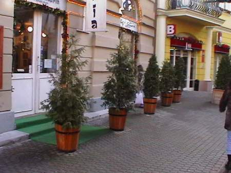 Улицы Эгера
