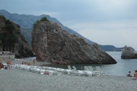 Городские пляжи Черногории