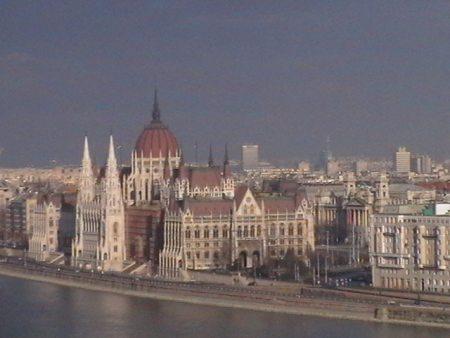 г.Будапешт. Вид на Здание Парламента