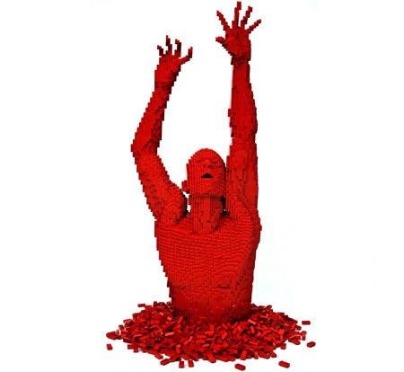 LEGO-скульптуры Натана Савайя — фото 2