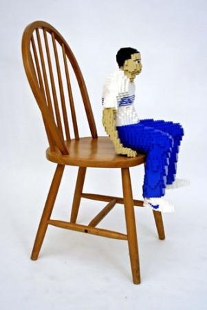 LEGO-скульптуры Натана Савайя — фото 9