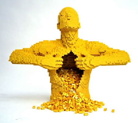 LEGO-скульптуры Натана Савайя — фото 10