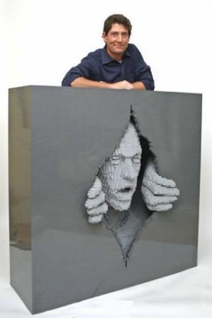 LEGO-скульптуры Натана Савайя — фото 8