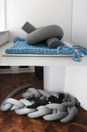 Мебель от Бауке Кноттнеруса