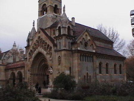 г.Будапешт. Замок Вайдахуньяд