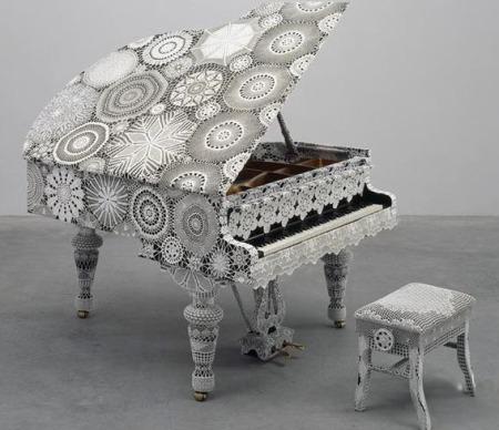 Рояль. Творение Джоаны Васконселос