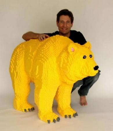 LEGO-скульптуры Натана Савайя — фото 13