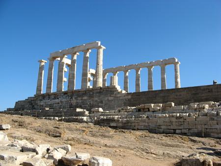 Руины храма Посейдона