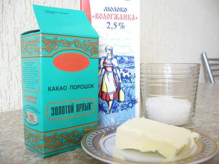 Ингредиенты на помадку
