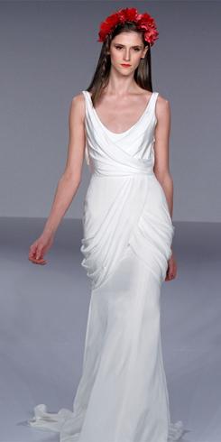 Новые тренды свадебных платьев на весну 2011 года — фото 1