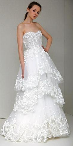 Новые тренды свадебных платьев на весну 2011 года — фото 3