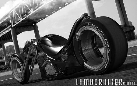 Lamborghini Concept Adriani  мотоцикл будущего — фото 6