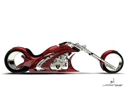 Lamborghini Concept Adriani  мотоцикл будущего — фото 2