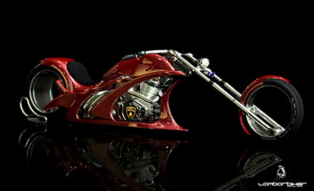 Lamborghini Concept Adriani  мотоцикл будущего — фото 4