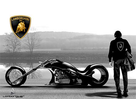 Lamborghini Concept Adriani  мотоцикл будущего — фото 1