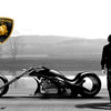 Lamborghini Concept Adriani  мотоцикл будущего