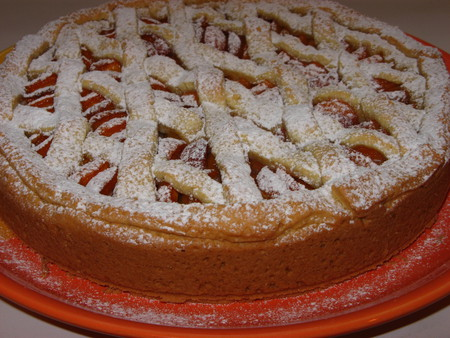 Пирог с абрикосами — фото 1