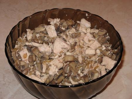 Киш с курицей и грибами — фото 13