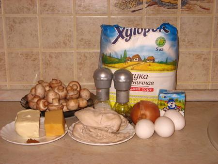 Киш с курицей и грибами — фото 2