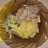Куриная грудка под грибным соусом