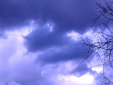 Небо стало вот таким