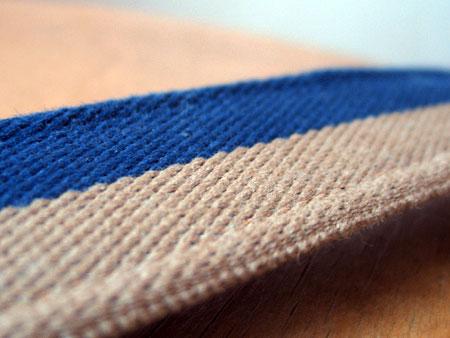 А это текстильная сторона ремня