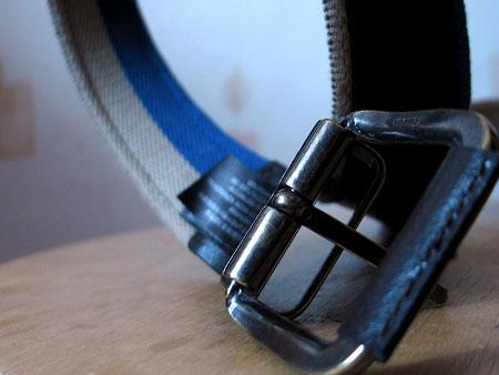 Кожаная отделка пряжки ремня Massimo Dutti