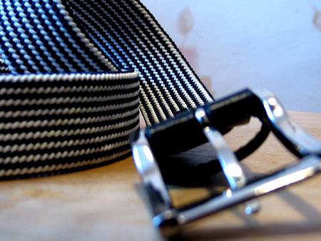 Сине-белое плетение Uniqlo