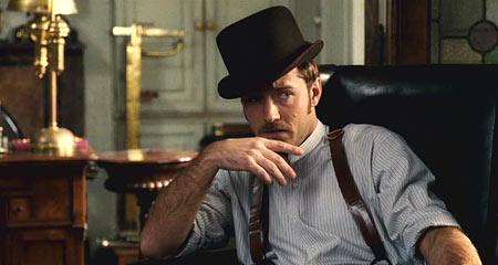 Джуд Лоу очень достойно вписался в роль Ватсона, только вот больно уж смелыйи дерзский у него доктор получился