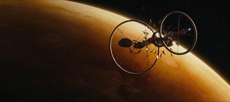 Здесь есть даже космос и космические корабли