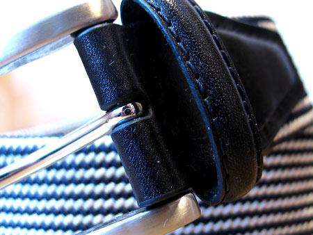 Качество кожаных деталей и матовой пряжки более чем удовлетворительное