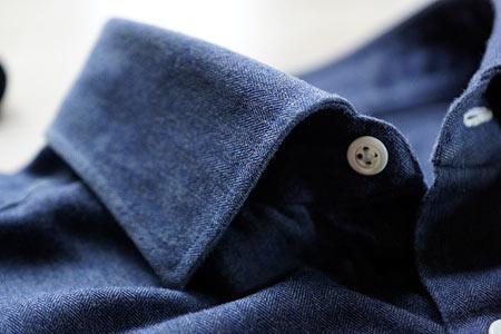 Джинсовая рубашка Borrelli