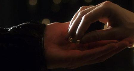 Это кольцо будет напоминать тебе о твоем обещании