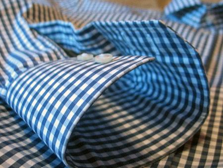 Снова в школу. Рубашка в клетку от Hugo Boss — фото 5