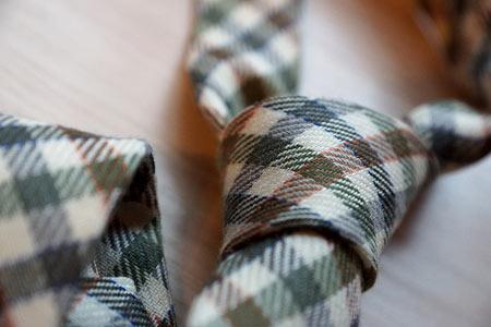 Кашемировый галстук Borrelli в клетку