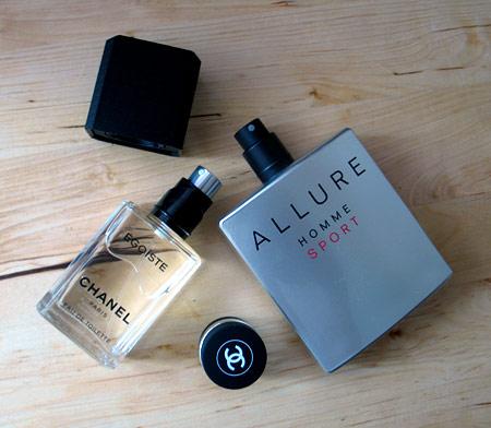 Свежесть против чувственности. Chanel Allure Homme Sport vs. Chanel Egoist — фото 1