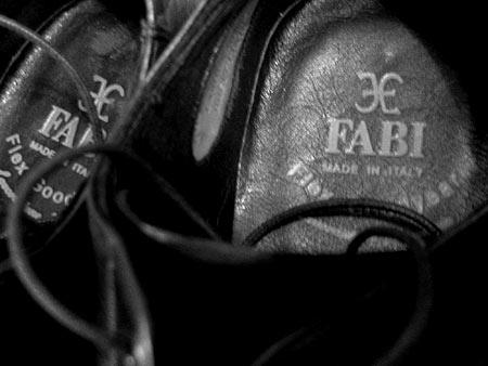 Логотип Fabi на стельке