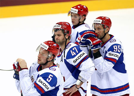 Чемпионат мира по хоккею в Словакии. От печали до радости и обратно