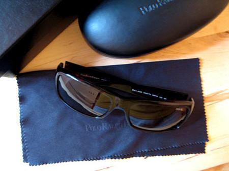 Вот они. Хорошие очки на хорошей замшевой тряпочке