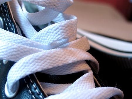 А вот и шнурки собственно