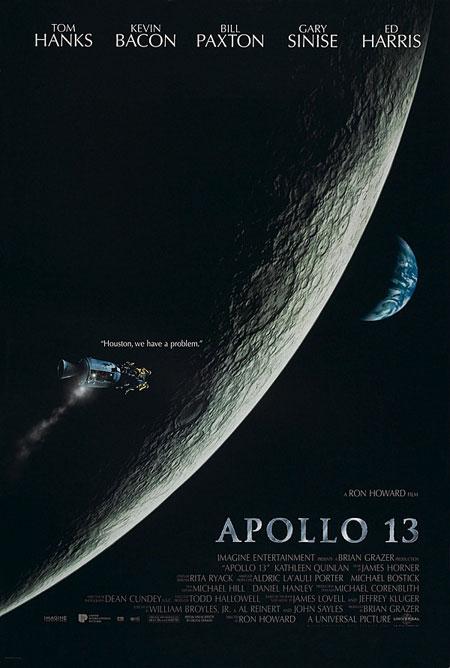 Аполлон 13. Очень реалистичный фильм о полете американцев к Луне. О том, как это было и что из всего этого вышло.