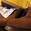 Замшевые ботинки Franceschetti. Модные гавнодавы из Италии